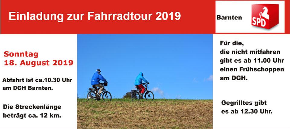 Einladung zur Fahrradtour