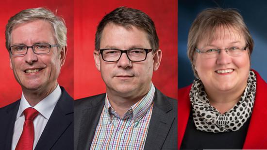 Thorsten Esse, Gerald Ludewig und Cornelia Ott