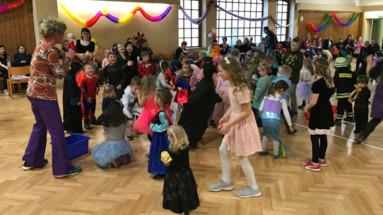 Impression vom Kinderfasching