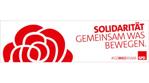 Logo zum 1. Mai